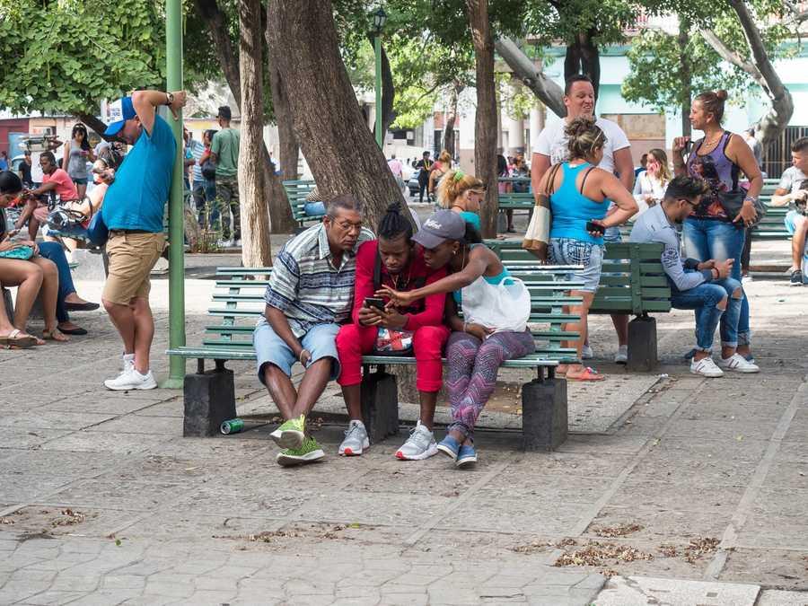 Parks are internet hot spots