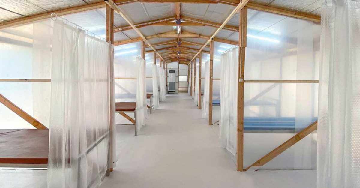 Temporary Quarantine Facility Interior 2