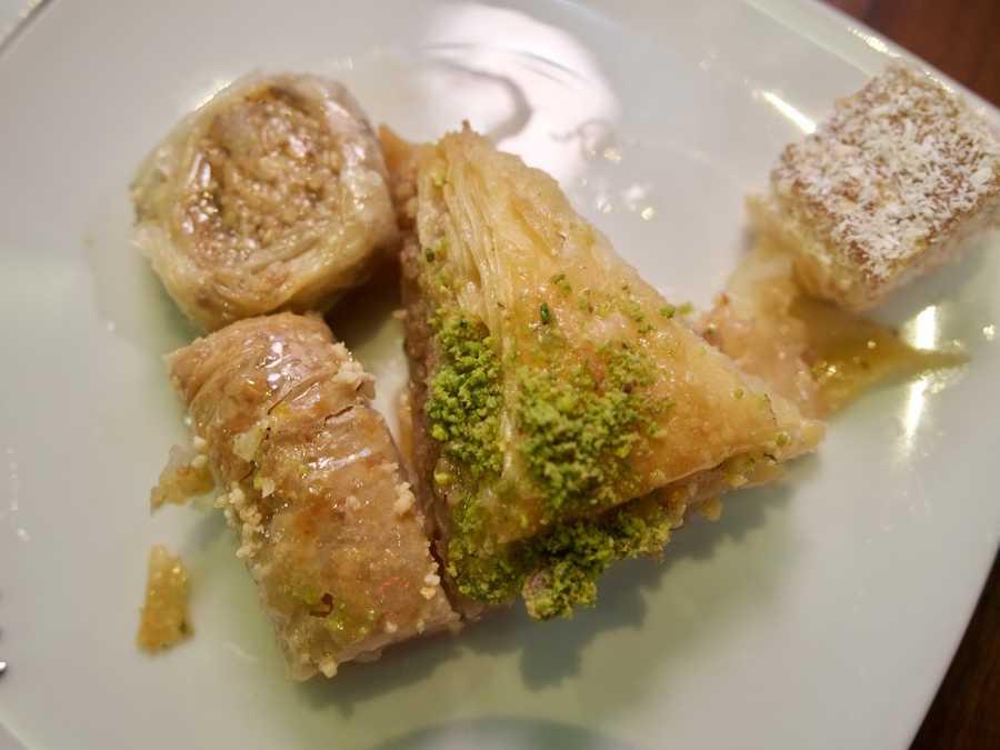 Bosnian style baklava