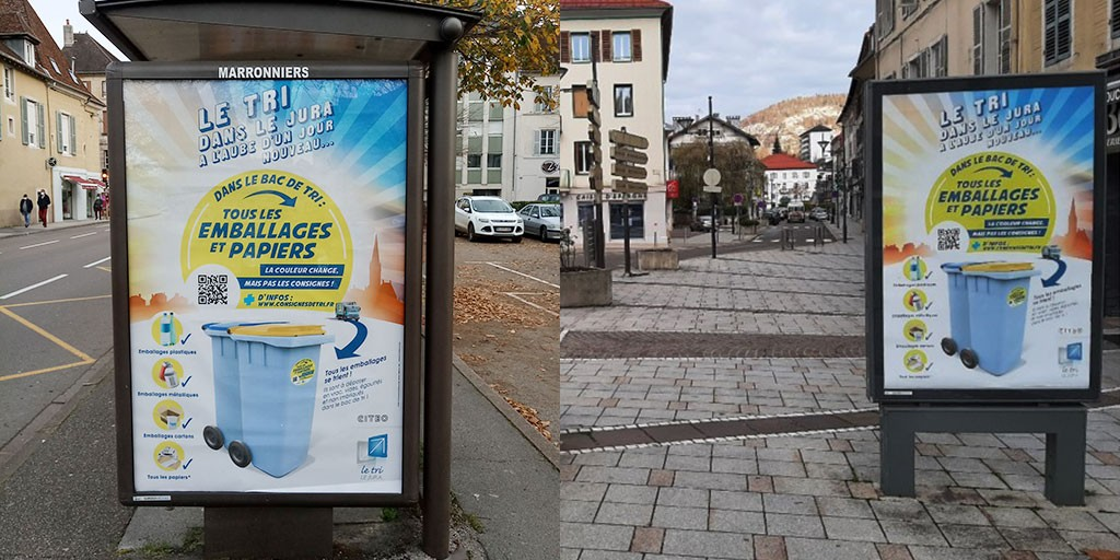 Campagne d'affichage SYDOM