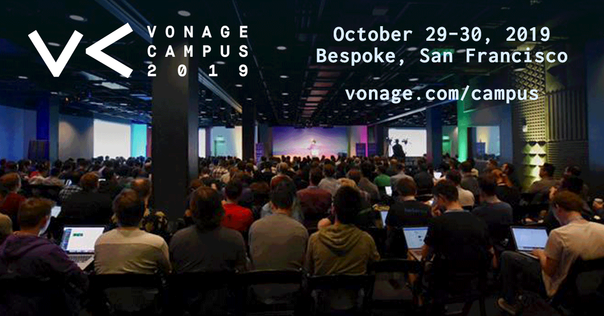 Announcing the Vonage Campus Developer Track