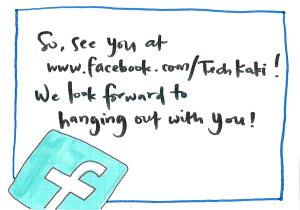 be our tech kaki!