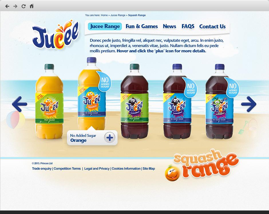 Jucee Website Rebrand