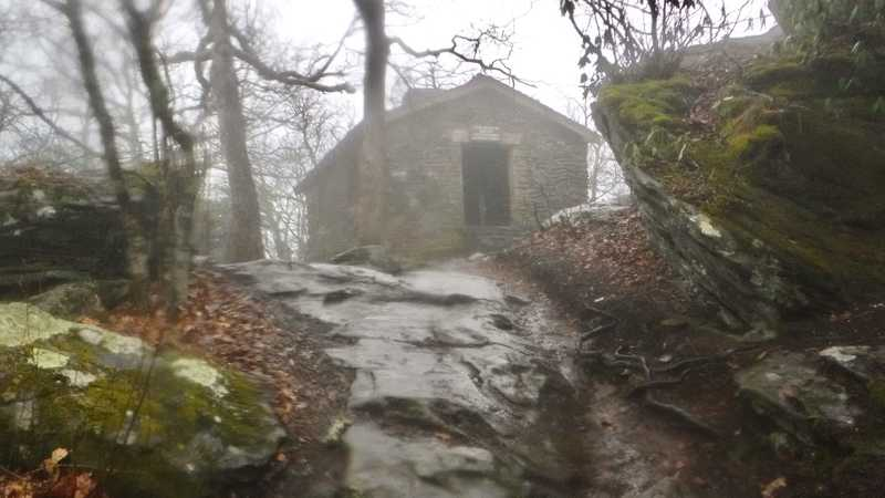 Shelter on Blood Mountain