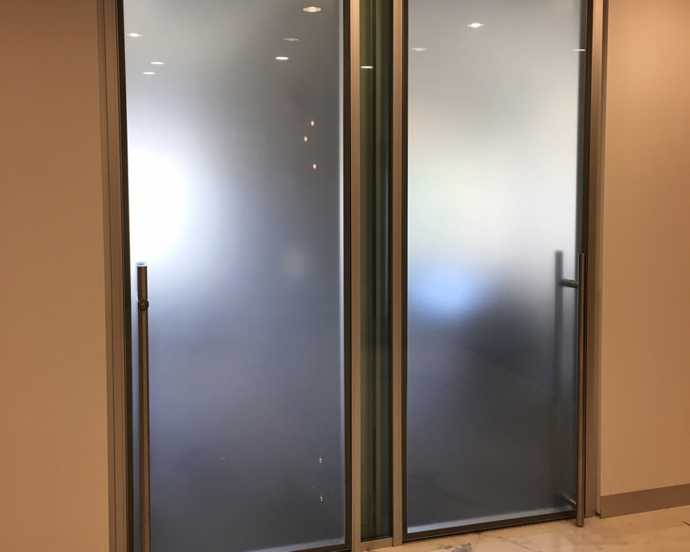 Frosted Glass Doors for Offices