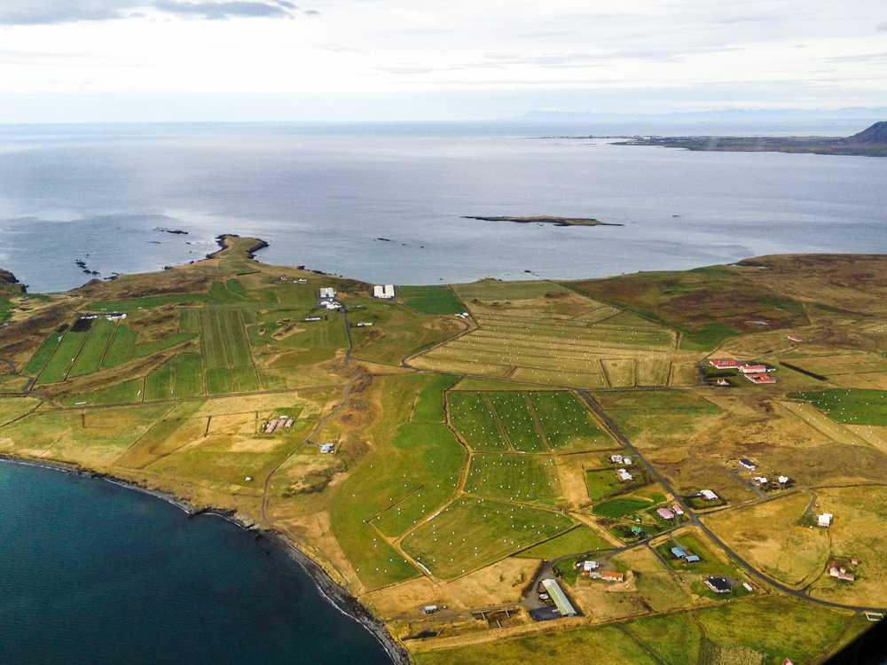 Landing in Stykkishólmur