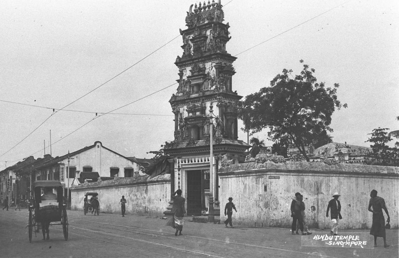 Sri Mariamman Temple, 1905