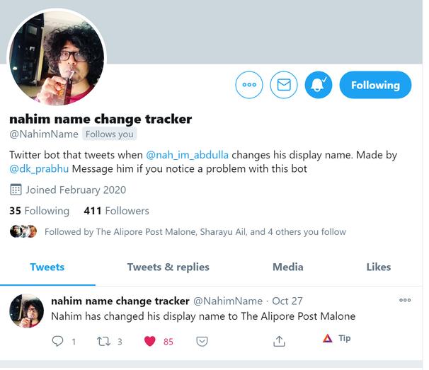 Nahim Name