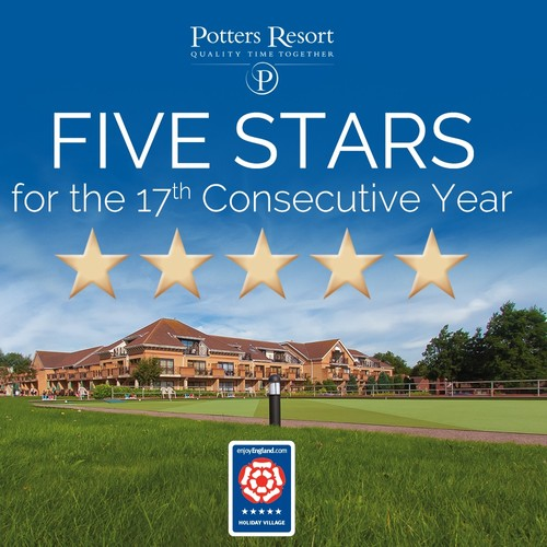 Potters retains five star rating for 17 years