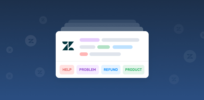 Automate Ticket tagging in Zendesk with Keyword Extraction
