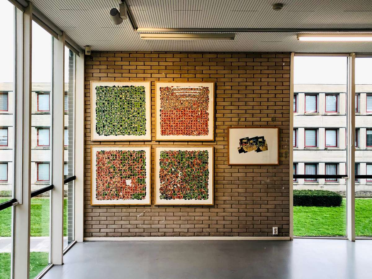 RGB series on display at Zoom In 1 at the Rietveldpaviljoen, Amersfoort, Netherlands. (Photo by Abe van Ancum, www.abevanancum.nl)