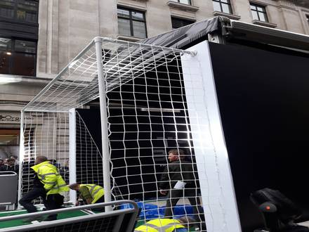Temporary Fencing, Pedestrian & Concord Barriers – FIFA Awards 2017
