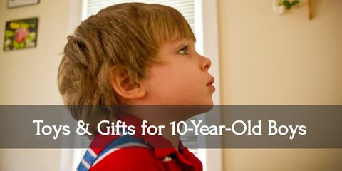 Spread some joy and give your ten-year-old boy awesome gifts!