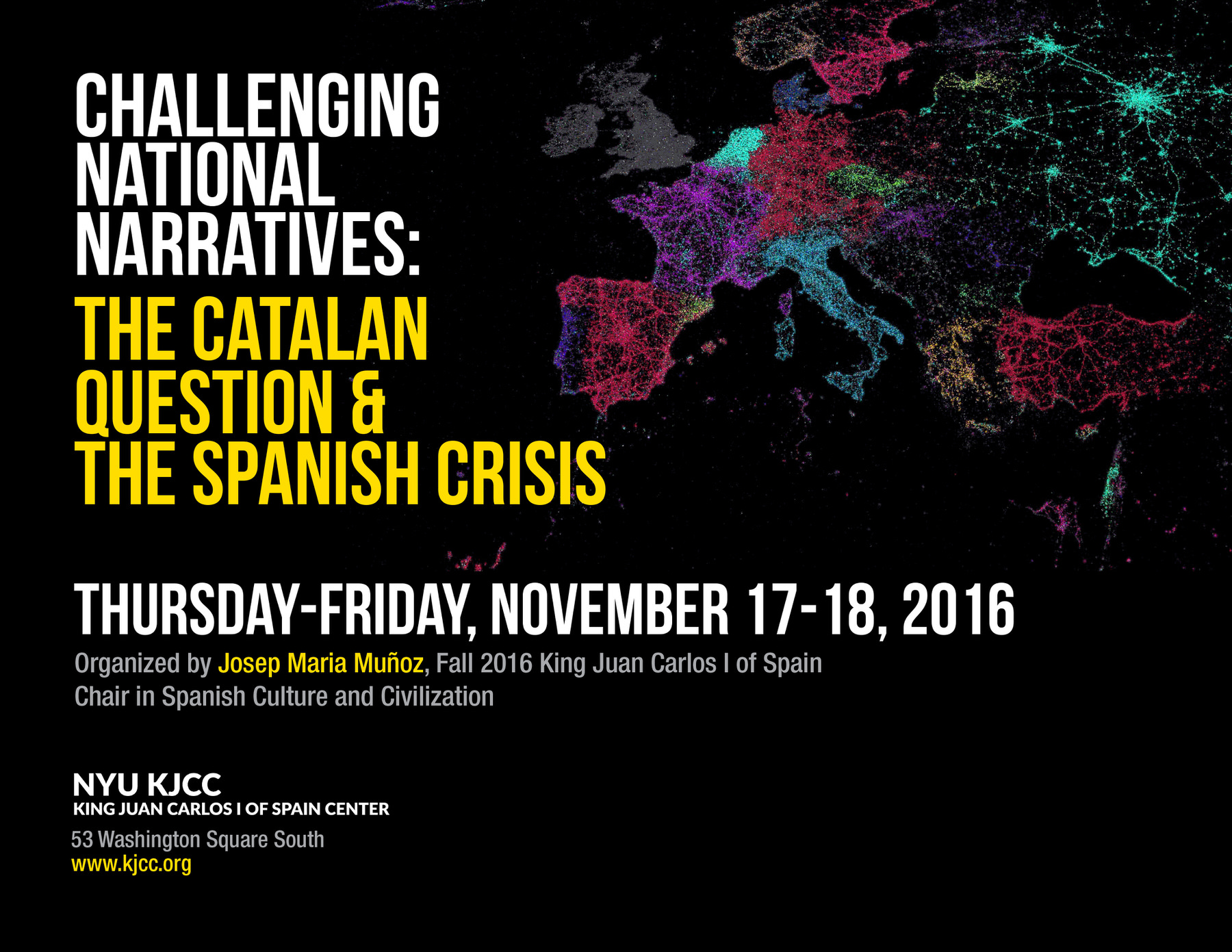 image from VIDEO AVAILABLE - Challenging National Narratives: the Catalan Question & the Spanish Crisis -