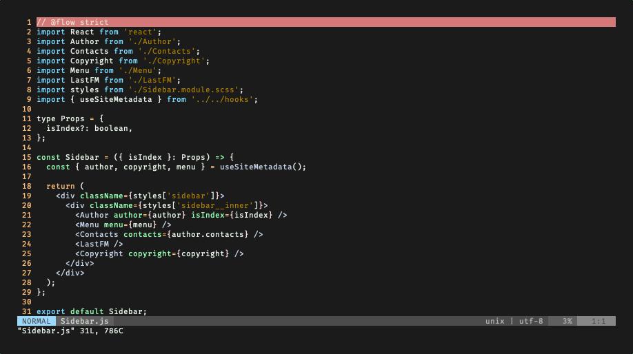 vim-javascript