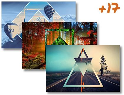 Polyscape theme pack