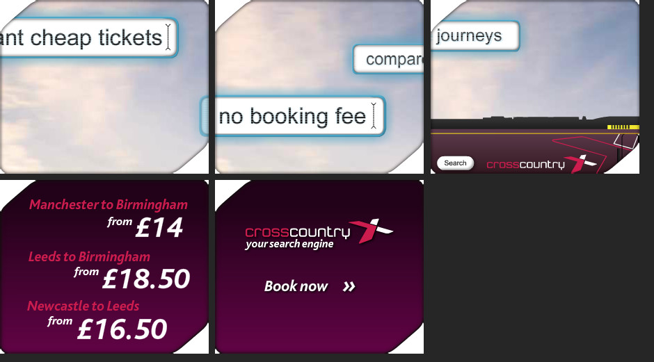 Cross Country Trains Collateral