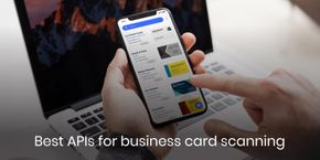 Best APIs for business card scanning