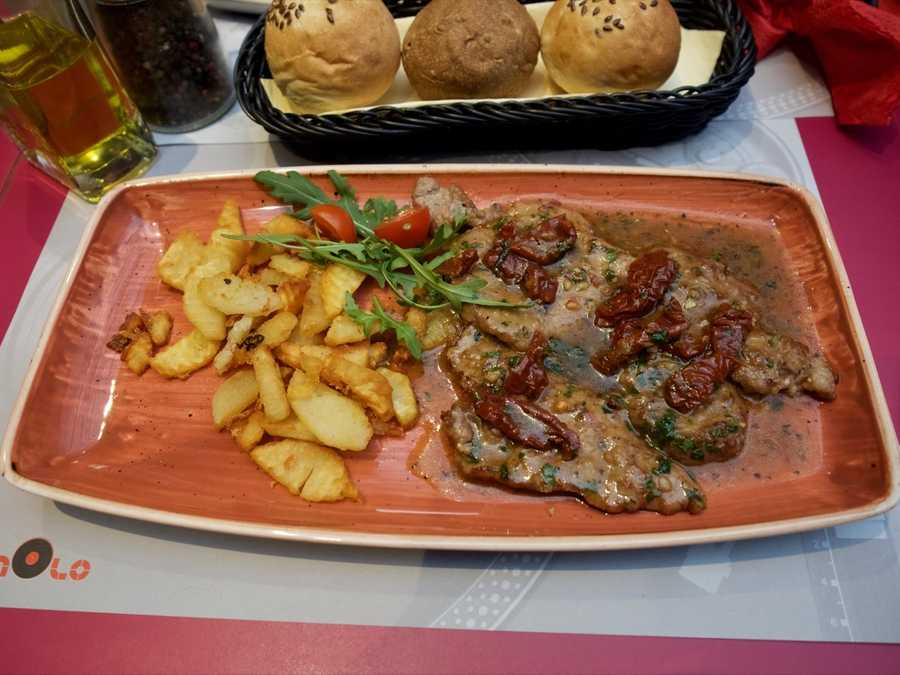 Veal and tomatoes