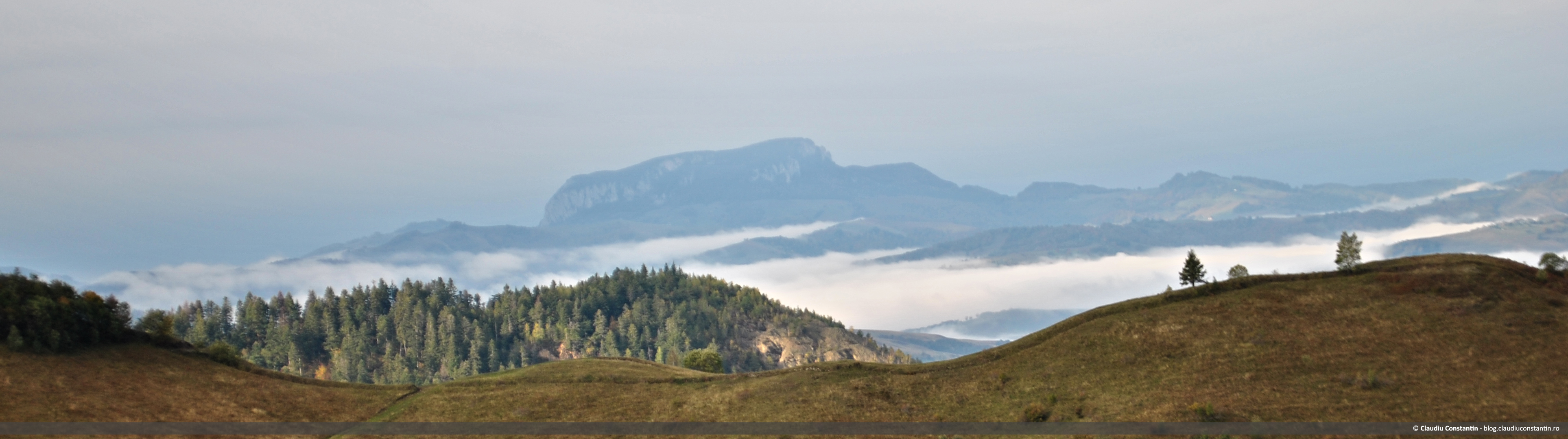 Vedere spre Buceş-Vulcan