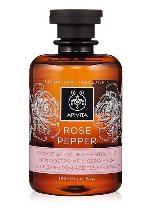 Shower Gel with Rose and Black Pepper – 250ml