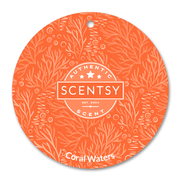 Coral Waters Scent Circle