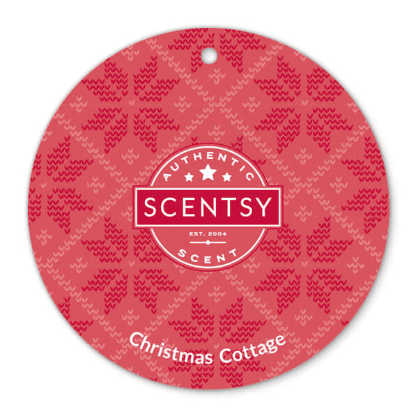 Picture of Christmas Cottage Scent Circle