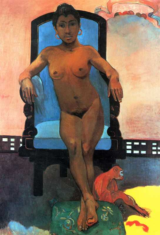 'Annah the Javanese' by Gauguin in 1893, Private collection