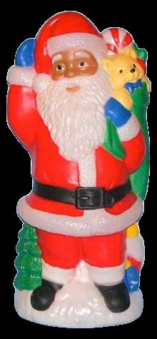 Santa With Toys photo
