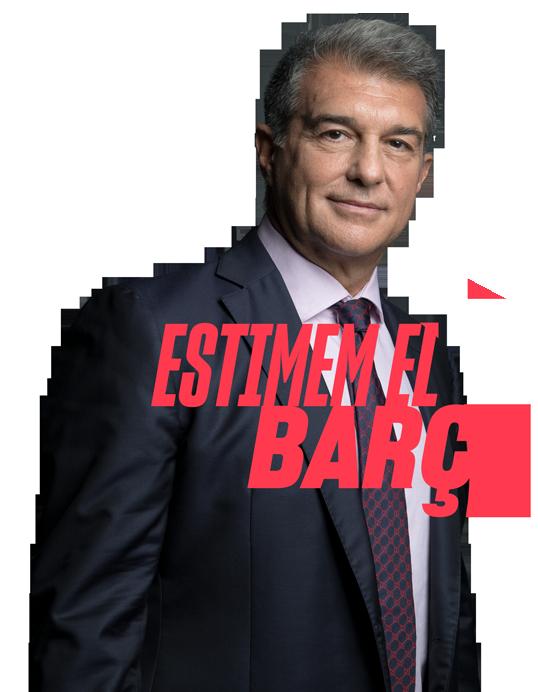 Estimem el Barça, Joan Laporta