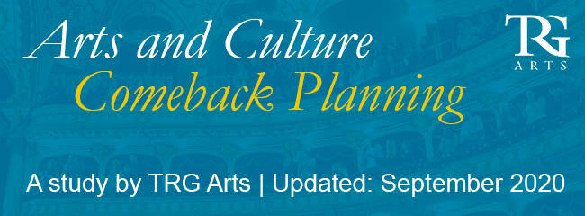 Arts and Culture Comeback Planning: September 2020