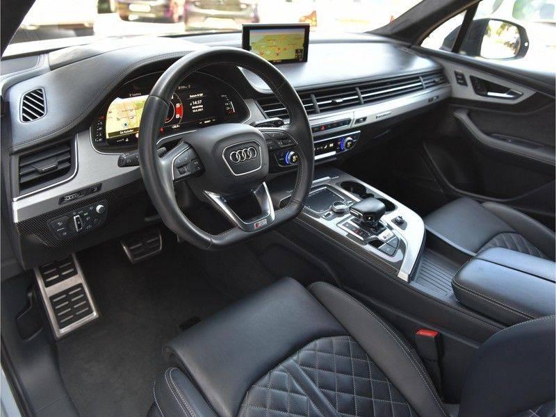 Audi SQ7 4.0TDI Quattro S-Line Individual Lucht Softcl Standk HUD M-Led Rauten Bose Alcant-hemel Leder-Dash afbeelding 23