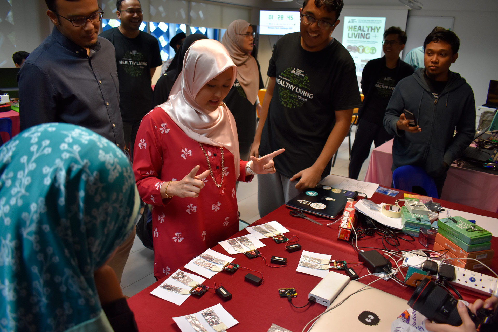 Youths Get Hands On In 24-Hour Hackathon
