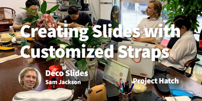 featured image thumbnail for post How We Created Slides with Customizable, Swappable straps