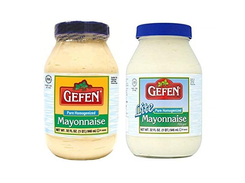 Gefen Pure Homogenized/Lite Mayonnaise (945ml)