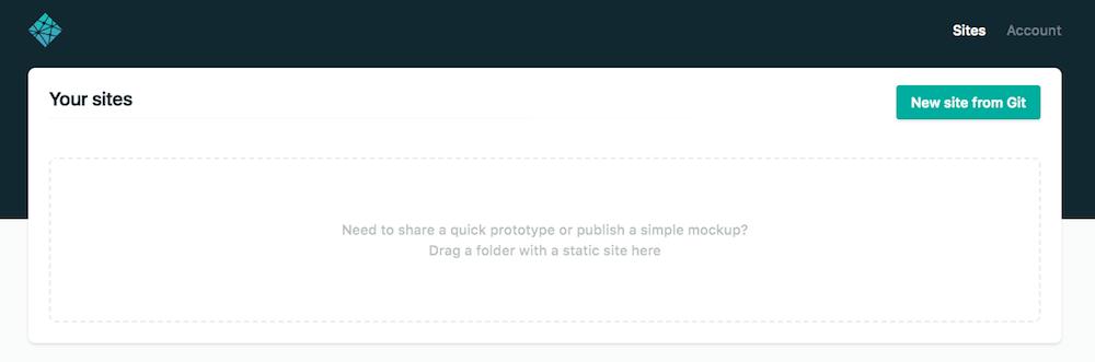 サイト未登録の画面