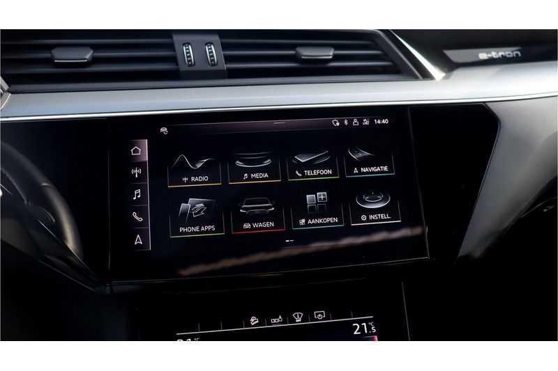 Audi e-tron 55 quattro Advanced Bang & Olufsen, Panoramadak, Head-Up Display, Soft-Close afbeelding 17