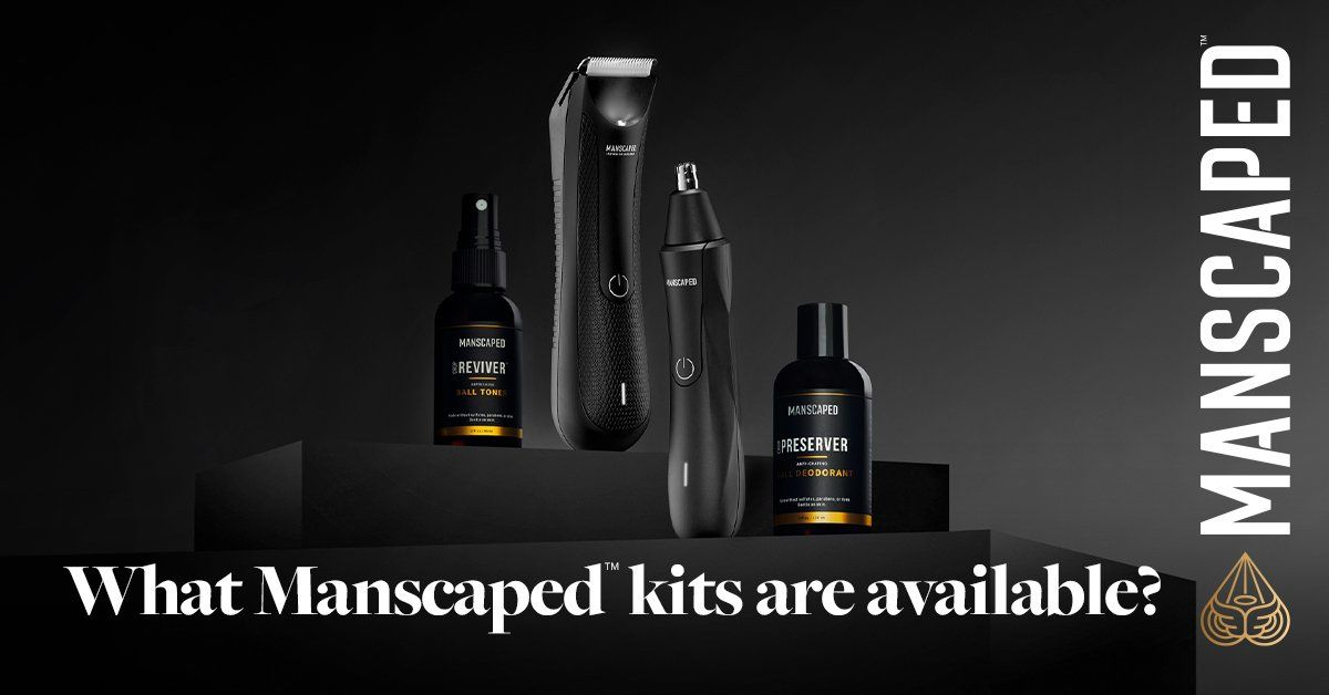 what manscaped kits are available?
