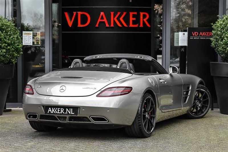 Mercedes-Benz SLS AMG ROADSTER AIRSCARF+RIDE CONTROL+CAMERA afbeelding 5