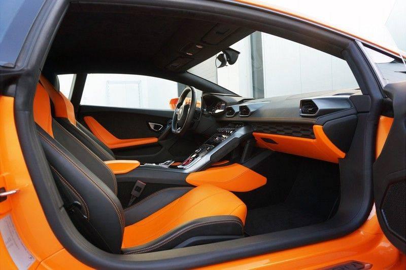 Lamborghini Huracan LP610-4 5.2 V10 Arancio Borealis afbeelding 17