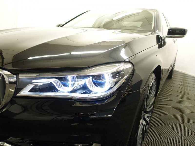 BMW 7 Serie 740D xDrive 320pk Individual M-Sport Aut8 Leer, 360 Camera, Full, 54 dkm afbeelding 12