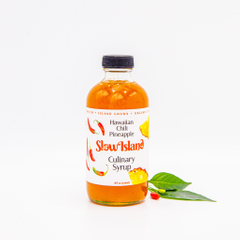 Slow Island | Hawaiian Chili Pineapple Culinary Syrup