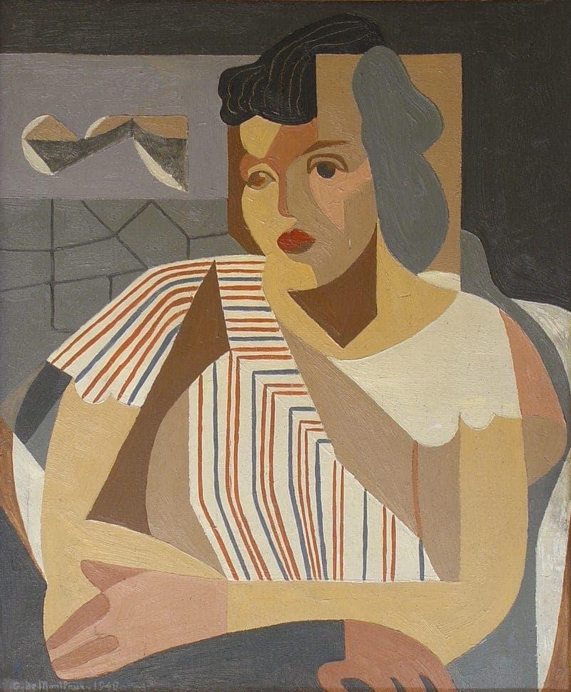 Portrait d'une femme assise