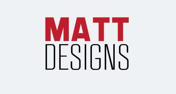 matt designs logo