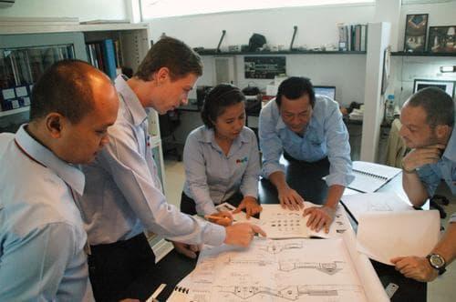 The AVC team planning