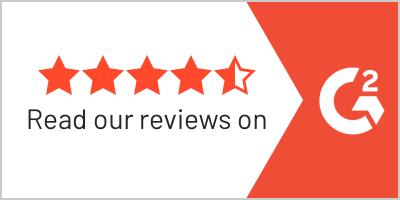 4.5 G2 rating stars