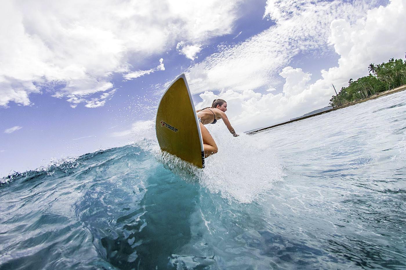 Moon Palikir Surf Charter Trips Mentawai or Telos Islands Girls