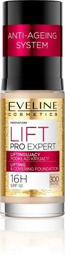 EVELINE LIFT PRO EXPERT lifting hatású fedő alapozó NO.300 pasztel 30 ml