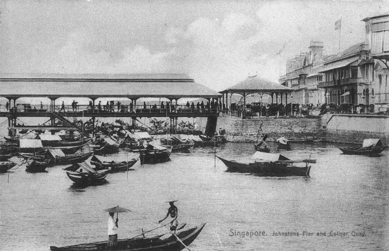 Johnston's Pier and Collyer Quay, 1900s