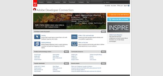 Adobe Developer Connection